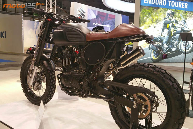 2017 Vervemoto Tracker 125i Specs Images And Pricing