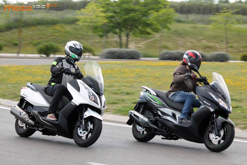 Cara A Cara Kawasaki J125 Vs Kymco Superdink 125i Moto125