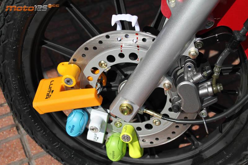 Bloque-disque Moto Granit Victory Xplus homologados Sra